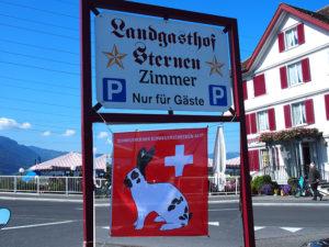 An diesem Schild führt kein Schäggeler-Weg vorbei.